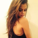 Selena Gomez's New Tattoo in 2014