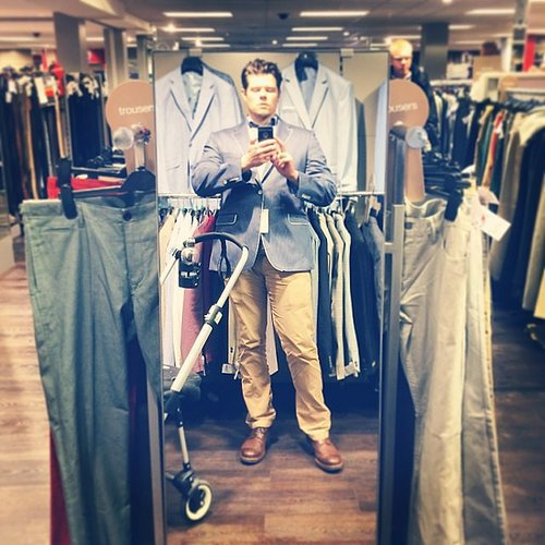 Shop With a Stroller