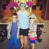 Britney Spears had a stylish brunch with her boys, Sean and Jayden. Source: Instagram user britneyspears