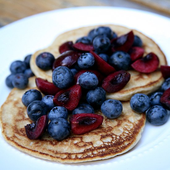 Healthy Tasty Vegan Pancakes Recipe 100 Calories