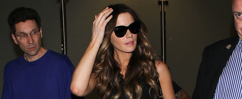 Even Kate Beckinsale's Airport Style Is Sexy