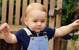 In Honor Of Prince George's First Birthday, The Palace Released This Adorable Pic