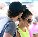 Nikki Reed and Ian Somerhalder get close