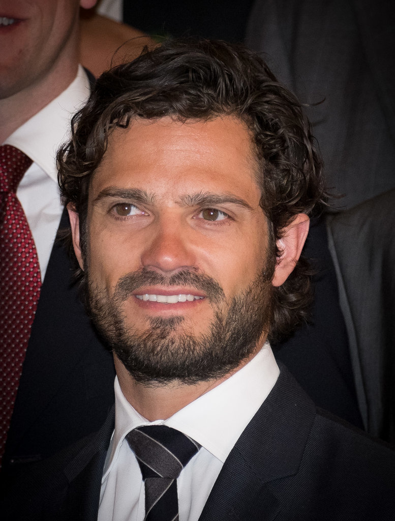 Prince Carl Philip of Sweden attended the Monaco Blue Initiative in Monaco in June 2013.