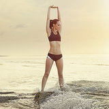 Surfer Workout for a Beach Body