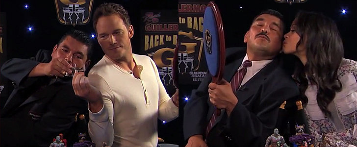 Take Shots, Sing, and Dance With The Guardians of the Galaxy Cast