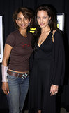 Halle Berry and Angelina Jolie linked up during Comic-Con back in 2003.