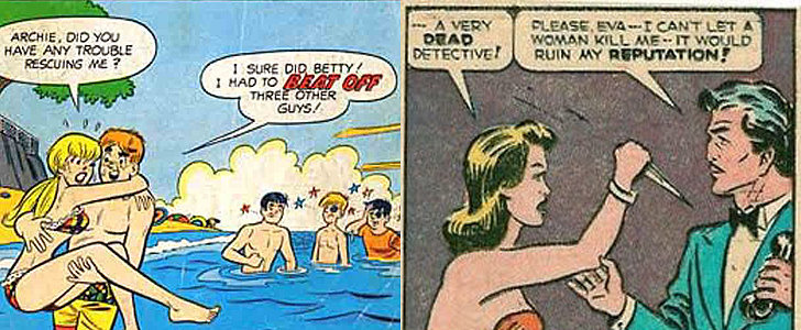 Inappropriate and Sexist Vintage Comic Book Moments