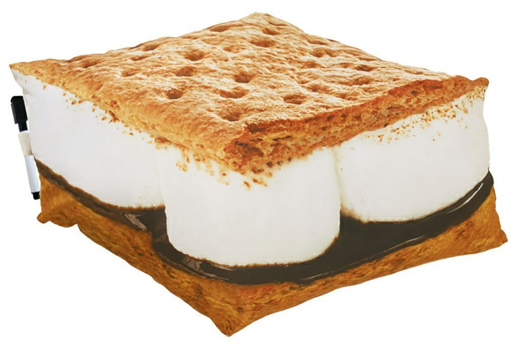 S'mores Autograph Pillow