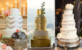 Want A Dramatic Wedding Cake? Try A Tall Middle Tier