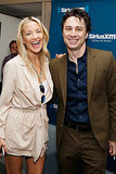 Kate Hudson and Zach Braff laughed at SiriusXM's NYC studios on Tuesday.