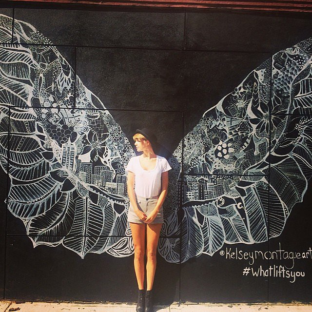 Taylor Swift had wings. Source: Instagram user taylorswift