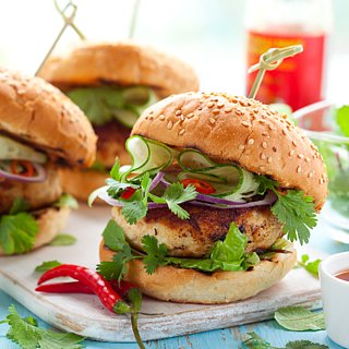 Healthy Grilled Burger Ideas