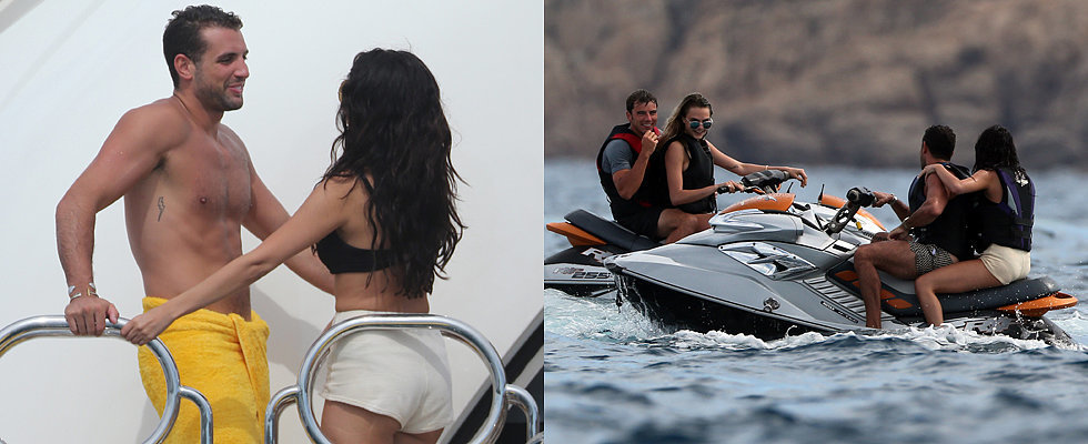 Selena Gomez Gets Close to a Mystery Man on Her Birthday Getaway