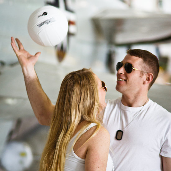 Taylor and Kevin's Top Gun-Themed Engagement
