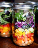 Rainbow Layered Salad (on the Go!)