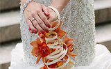 This Bride Wore Her Bouquet As a Bracelet!