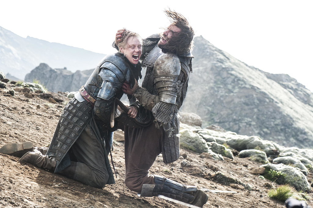 Brienne and The Hound's Riva