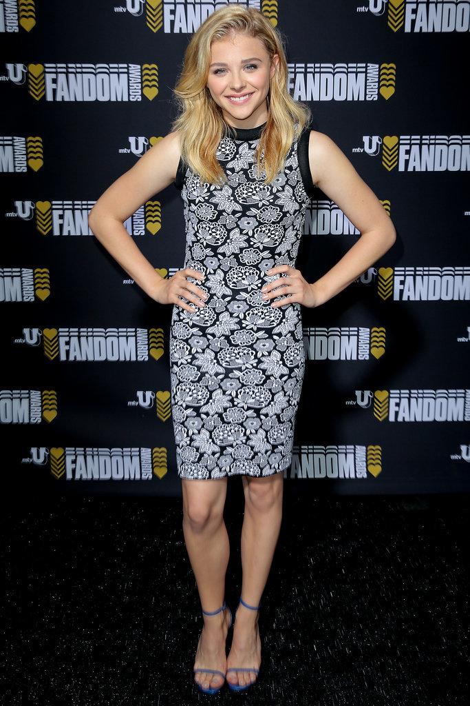 Chloë Moretz posed on Thursday.