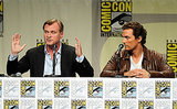 From EW: Matthew McConaughey & Christopher Nolan Make Comic-Con Debut