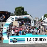 Finish Line Exclusive at La Course by Le Tour de France