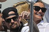 Cameron Diaz And Benji Madden Vacation Together In France