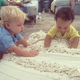Jessica captured Ace's playdate with her BFF CaCee Cobb's son, Rocco Faison.  Source: Instagram user jessicasimpson