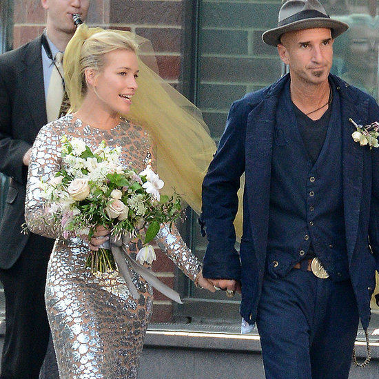Piper Perabo Committed the Ultimate Fashion Taboo at Her Wedding