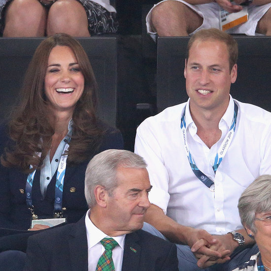 Kate Middleton and Prince William at 2014 Commonwealth Games