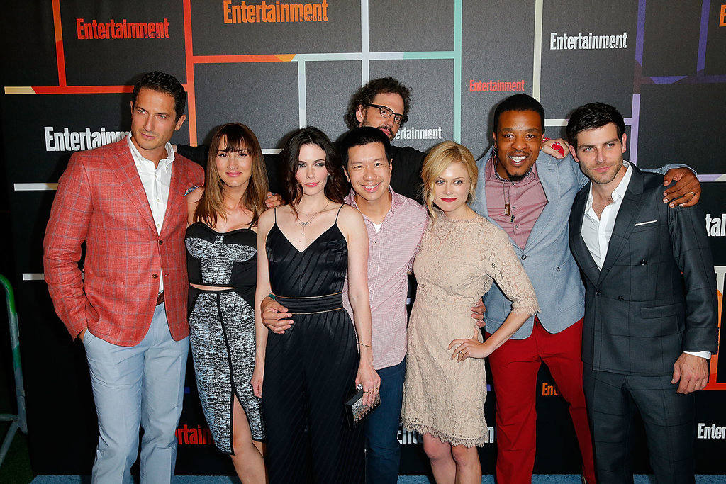 The cast of Grimm got together for a group shot on Saturday.
