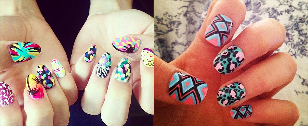 Ready, Set, DIY! The Best Lollapalooza Nail Art on Instagram