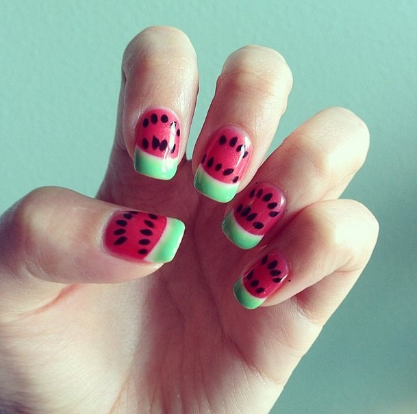 Sizzling Summer Nail Art That's Sure to Make a Splash