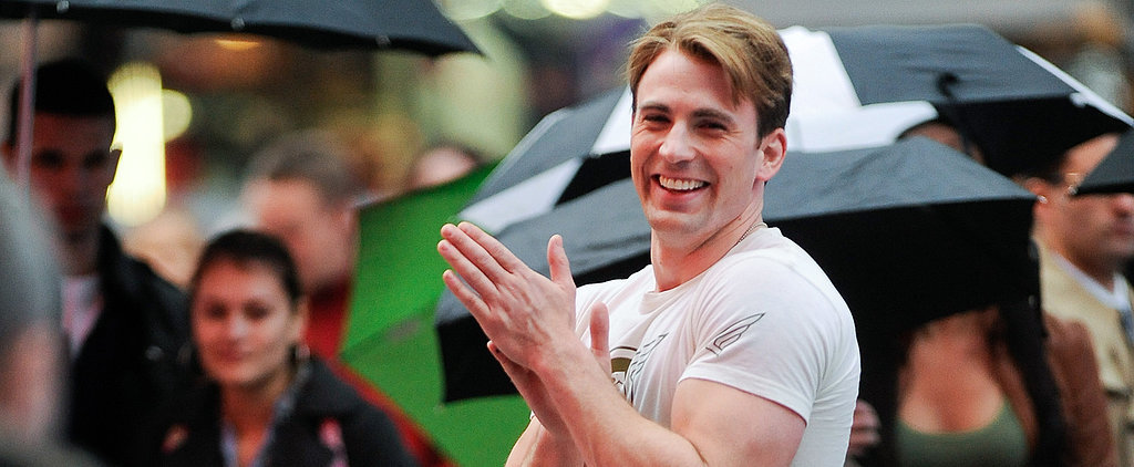 12 Times Chris Evans Simply Could Not Contain His Muscles