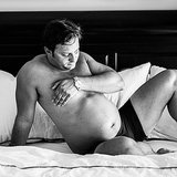 Husband's Hilarious Maternity Photos
