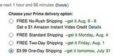 Amazon Will Pay You $1 To Choose Slow Shipping