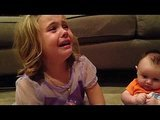 Five-Year-Old Doesn't Want Baby Brother to Grow Up (Watch!)