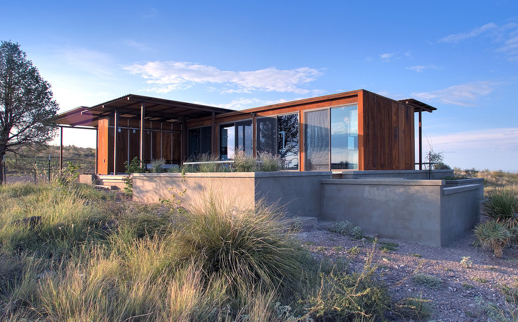 Minnesota based builder Alchemy Architects has made prefabricated homes cool again. weeHouses, the company's answer to tiny housing, eliminate waste in the building process, so that residents can rest easy in their small (but comfortable!) new homes. One gorgeous success story is the Marfa weeHouse, located in Texas. At less than 500 square feet, this home combines the best of modern, minimalist living with southern charm.