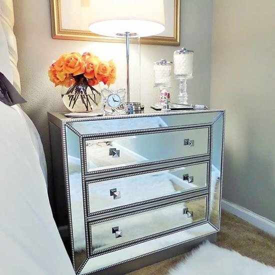 Nightstand decorating ideas popsugar home - Bedside tables small spaces decor ...