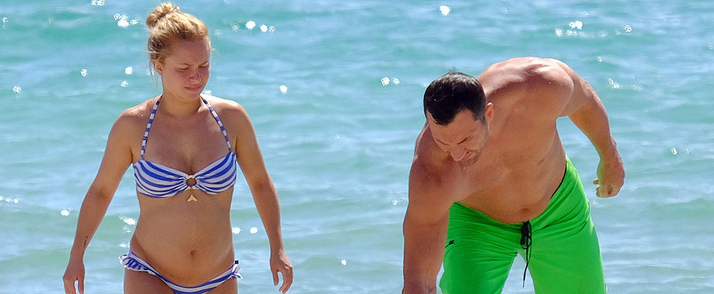 Hayden Panettiere Shows Her Baby Bump in a Bikini!