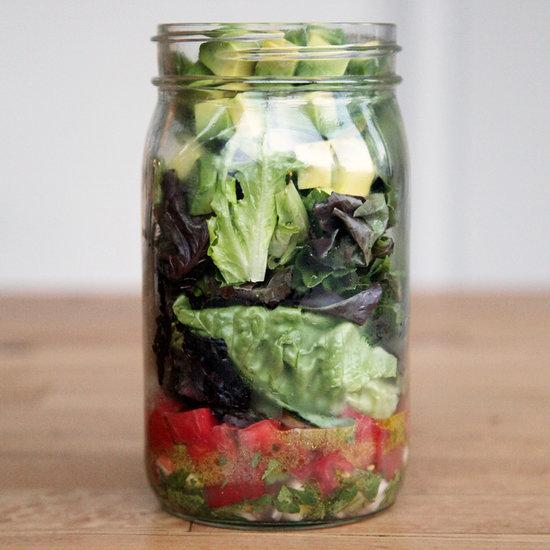 Sate Chips and Guac Cravings With This Mason Jar Salad