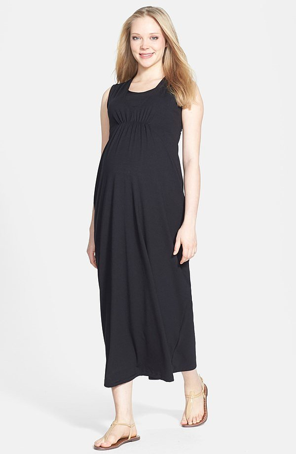 Japanese Weekend Maxi Nursing Dress