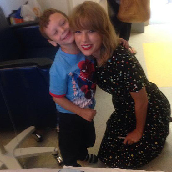 Taylor Swift Sings To Leukaemia Patient Jordan Lee Nickerson
