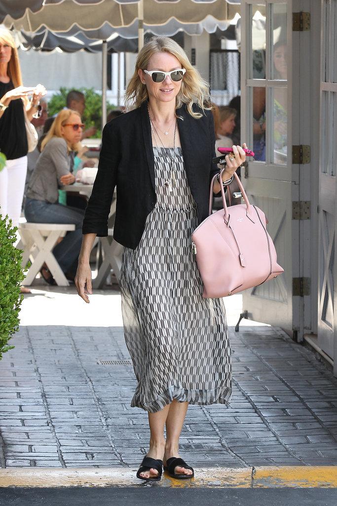 Naomi Watts Carrying Louis Vuitton