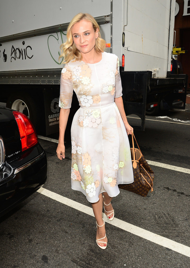 Diane Kruger Carrying Louis Vuitton