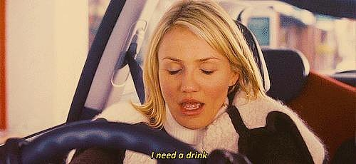 You avoid alcohol, even though your desperately want it.