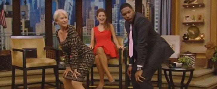 Yes, You Needed to See Helen Mirren Twerking Today