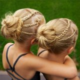Identical Twin Hairstyles on Instagram