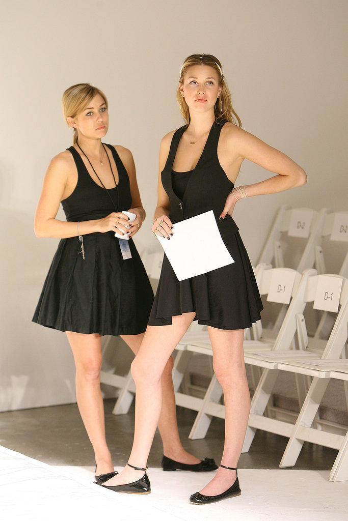 Lauren Conrad and Whitney Port