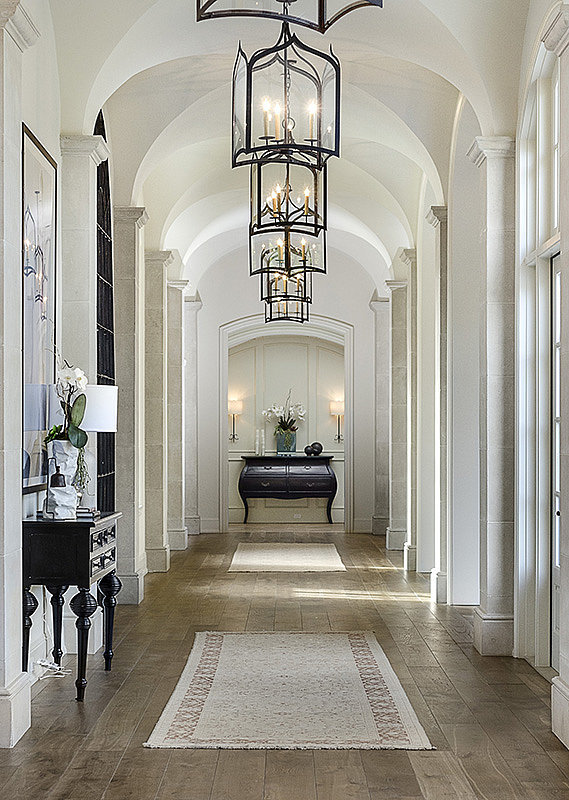 Baby North will have plenty of room to run and play in the estate's long hallways.  Source: Zillow