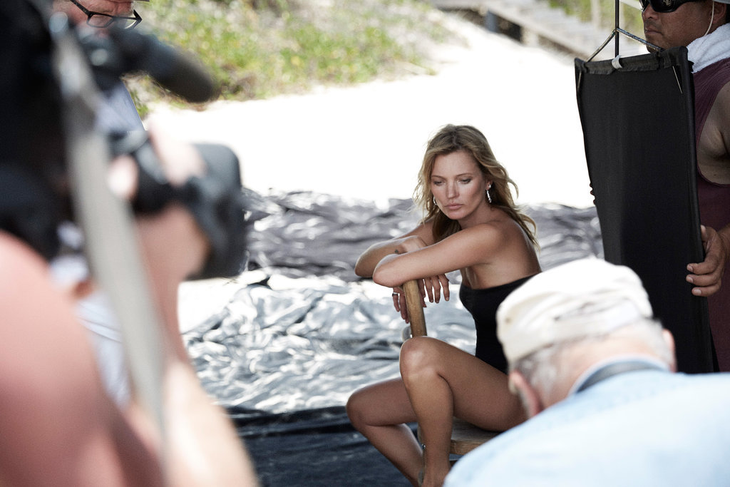 Behind the Scenes at Kate Moss's David Yurman Photo Shoot